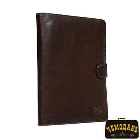 Блокнот кожаный Italico 2590 moro коричневый