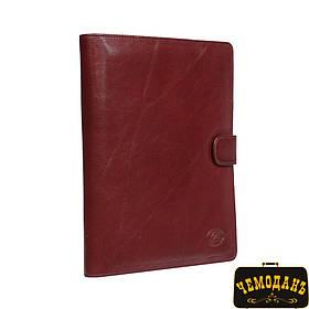 Блокнот кожаный Italico 2590 rosso красный