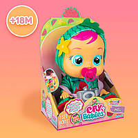 Cry Babies Tutti Frutti Mel Watermelon Интерактивная кукла пупс плакса Край бейби Арбуз ароматизированная
