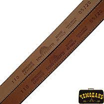 Ремень кожаный 05/20 moro коричневый, фото 2