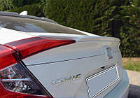 Honda Civic Sedan X 2016↗ гг. Спойлер Анатомик (под покраску)