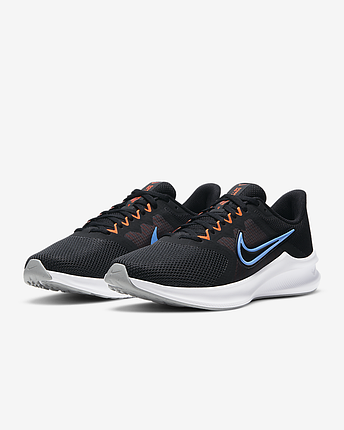 Кроссовки мужские Nike Downshifter 11 CW3411-001 Черный, фото 2
