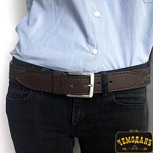 Ремень кожаный 176 moro коричневый, фото 2
