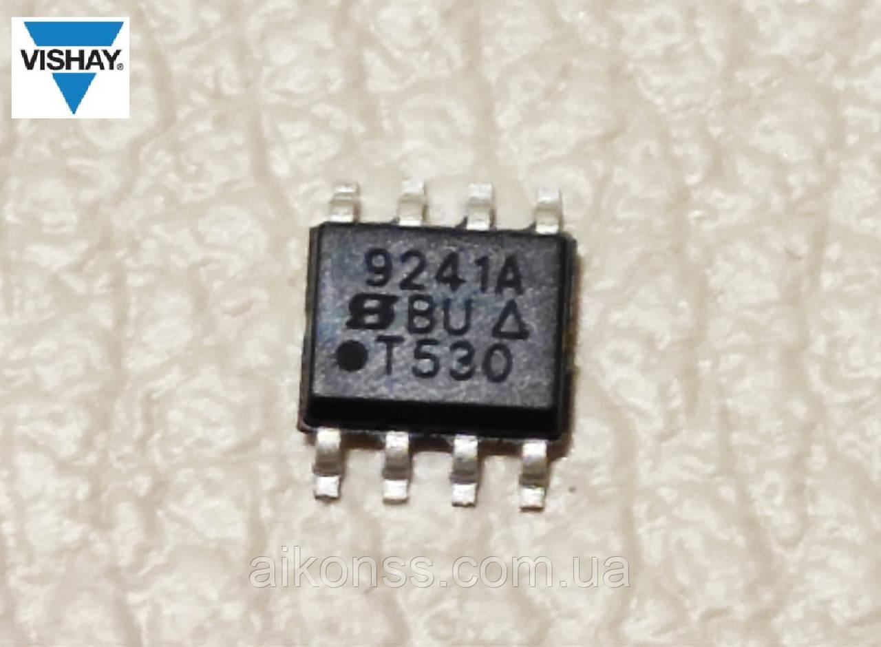 Микросхема SI9241A SOP8 ( Vishay )  приемопередатчик автодиагностики ISO-4141. Оригинал .