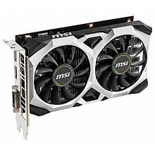 Видеокарта GTX 1650 4GB MSI Ventus XS GDDR5 (128bit) (GeForce GTX 1650 VENTUS XS 4G OCV1)