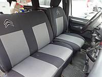 Fiat Scudo 2007-2015 гг. Авточехлы (тканевые, Classik)