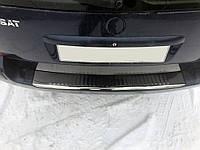 Volkswagen Passat B5 1997-2005 гг. Накладки на задний бампер SW (Carmos, сталь) 1996-2000