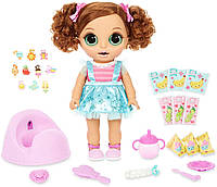 Baby Born Surprise Magic Potty Кукла Беби Борн принцесса и волшебный горшок Лялька Бейбі Борн