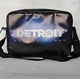 """Сумка формату А4 через плечі """"Detroit: Become Human"""", фото 2"""