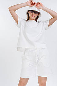 Женский костюм шорты и футболка