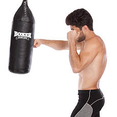 Мішок боксерський Шоломоносний Шкіра 10 кг BOXER 1004-02, фото 2