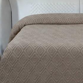Простирадло махрова Lotus - Geo какао 200*220