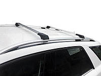 Fiat Scudo 1996-2007 гг. Поперечены на рейлинги без ключа (2 шт) Черный