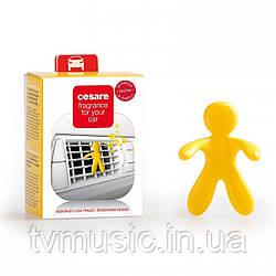 Ароматизатор в машину Mr&Mrs CESARE BOX Vanilla - Yellow