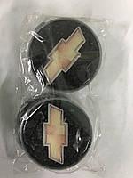 Колпачки в титановые диски Chevrolet 65мм V2 (4 шт)