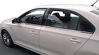 Seat Toledo 2012↗ гг. Наружняя окантовка стекол (нерж)