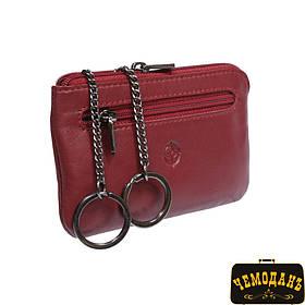 Ключница кожаная Cortina 5002 rosso красный