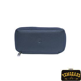 Ключница кожаная Cortina 5026 navy синий