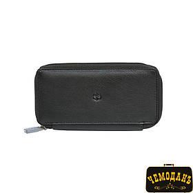 Ключница кожаная Cortina 5026 nero черный