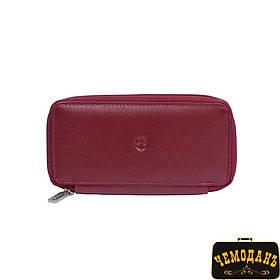 Ключница кожаная Cortina 5026 rosso красный
