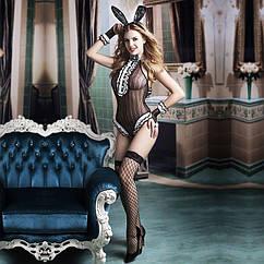 Еротичний костюм зайчика S M Неслухняна Сьюзен SO2261, КОД: 956948