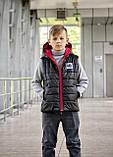 Стильный жилет для мальчика Спорт, фото 3