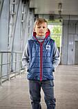Стильный жилет для мальчика Спорт, фото 4
