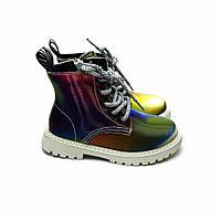 Демисезонные детские ботинки для девочки 27-17.7см; 29-19.2см;