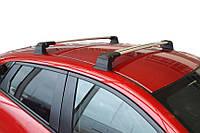 Mazda CX-3 2015↗ гг. Перемычки в штатные места (2 шт, под ключ) Черные