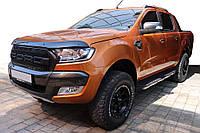Ford Ranger 2011↗ гг. Дефлектор капота EuroCap (2015-2021)