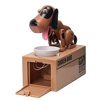 Інтерактивна Собака-скарбничка My Dog Piggy Bank, коричнева