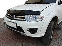Mitsubishi L200 2006-2015 гг. Дефлектор капота (EuroCap)