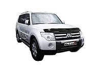 Mitsubishi Pajero Wagon IV Дефлектор капота (EuroCap)