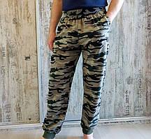 Брюки мужские 2-хнитка с карманами камуфляжные