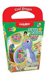 Масса для лепки Paulinda Super Dough Cool Dragon Дракон фиолетовый PL-081378-18, КОД: 2445628