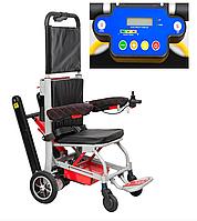 Лестничный электро подъемник-коляска для инвалидов MIRID SW05. Функция электроколяски.
