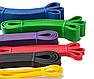 Гумова петля еспандер для фітнесу і тренувань EL-2080 6.4 мм (жовта), фото 3