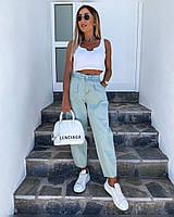 Женские стильные джинсы Balloon Батал, фото 1
