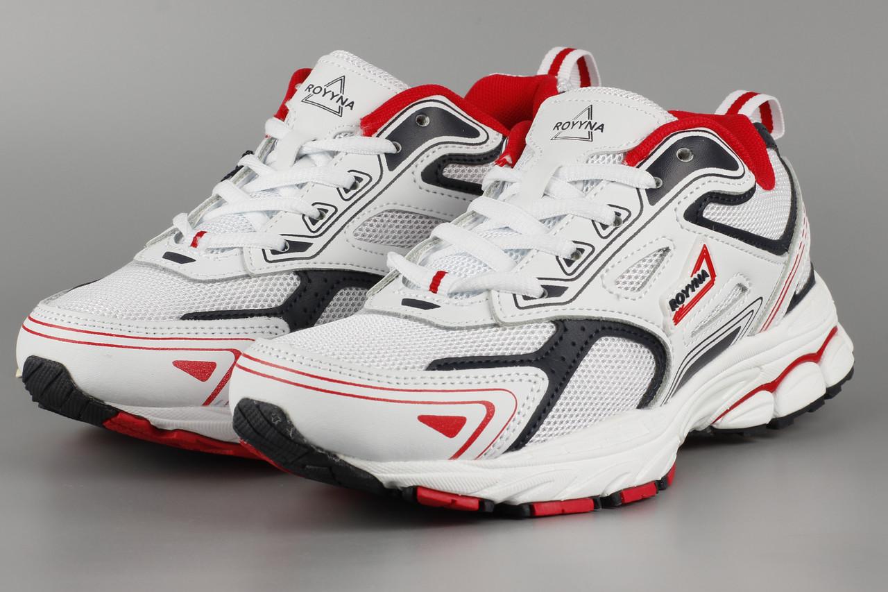 Кросівки унісекс жіночі білі літні Royyna 040K-2 сітка Ройна Бона Bona Розміри 36 37 38 39 40 41