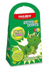Масса для лепки Paulinda Super Dough Fun4one Динозавр подвижные глаза PL-1567, КОД: 2445643