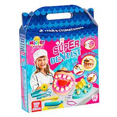 Набор для креативного творчества Strateg Мистер тесто Super dentis наt украинском 71407, КОД: 2446291