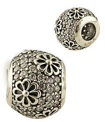 Серебряный шарм pSilverAlex без камней (1348765)