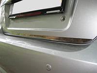 Chevrolet Aveo T200 2002-2008 гг. Кромка багажника (нерж.) HB