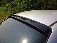 Chevrolet Aveo T200 2002-2008 гг. Задний козырек (DDU, ABS-пластик) Матовая