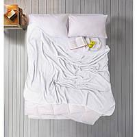 Простынь Iris Home махровая - White белый 190*220
