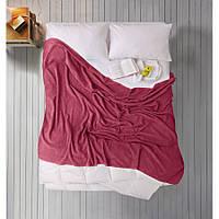 Простынь Iris Home махровая - Beaujolais бордовый 190*220