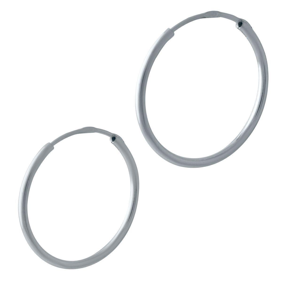 Срібні сережки pSilverAlex без каменів (2024057)
