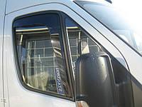 Дефлекторы окон (вставные!) ветровики Mercedes-Benz Sprinter W906 2006-2018 2шт., HEKO, 31161