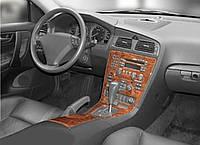 Volvo S60 2000-2009 рр. Накладки на панель (2000-2005) Алюміній