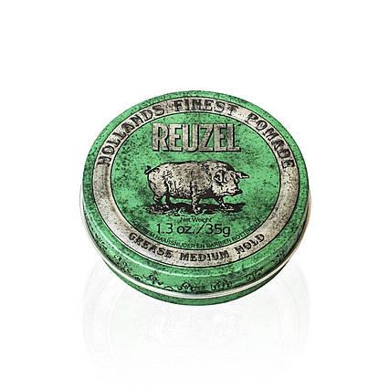 Помада для волосся Reuzel Green Medium Hold Grease 35г